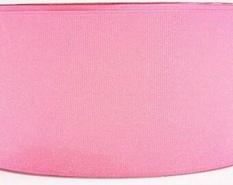 3 inch pink glitter ribbon, cheer hair bow supplies, 3yds, 75mm ribbon, sparkle cheer ribbon,