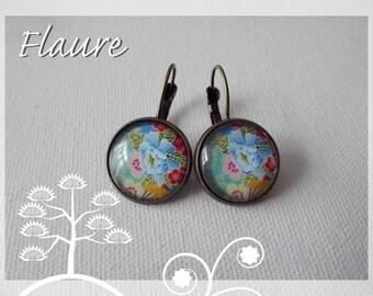"""Earrings '' Flowers of the islands 2 """""""
