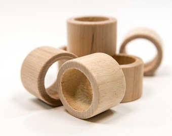 Unfinished Wood Napkin Ring|  Napkin Rings| Wood Napkin Rings| Napkin Rings| Wood Napkin Ring | Napkin Holder| Wooden Napkin Rings