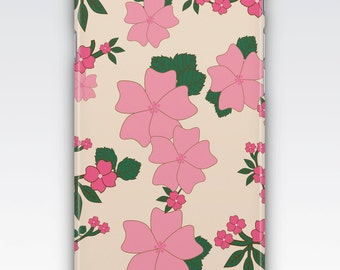 Case for iPhone 8, iPhone 6s,  iPhone 6 Plus,  iPhone 5s,  iPhone SE,  iPhone 5c,  iPhone 7,  Vintage Pink Floral Pattern iPhone