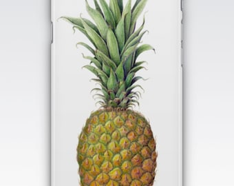 Case for iPhone 8, iPhone 6s,  iPhone 6 Plus,  iPhone 5s,  iPhone SE,  iPhone 5c,  iPhone 7  - Vintage Pineapple Design iPhone