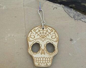 Car Essential Oil Diffuser-Wood Sugar Skull