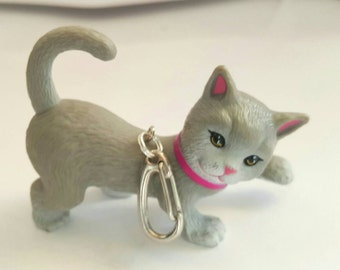 Keychain lanyard KITTY zipper pull backpack diaper bag gym bag