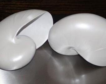 Ceramic Pearl Nautilus Shell