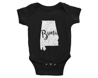 Alabama One-Piece // Bama Bodysuit // Alabama Bodysuit // Baby Shower Gift // Gender Neutral // Infant Gift // The Busy Bee