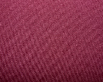 Fabric - Cotton/elastane rib fabric -500gsm - burgundy