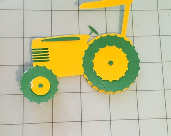 Paper Tractor Cutout(s)