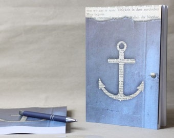 fat book (180 pages) with anchor