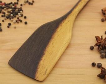 Wooden spatula – Wood spatula - Wooden cooking spatula – Wooden utensil – Large wooden spatula – Hand carved spatula - sauté - Spatula
