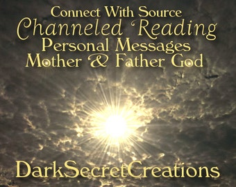 Mother & Father God Reading, Channeled Personal Messages, Connect With Source, Via PDF