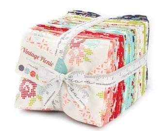 Vintage Picnic Fat Quarter Bundles by Bonnie and Camille for Moda Fabrics - IN STOCK