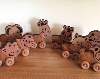 Zoo Carpet Buddies Toddler Push Toy/child's gift