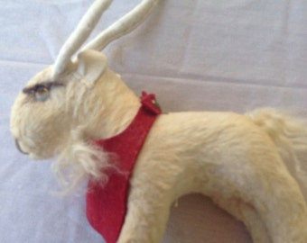 Vintage billy goat kid toy