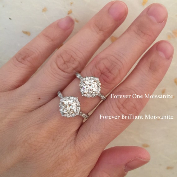 Two Tone Rose Gold Engagement Rings