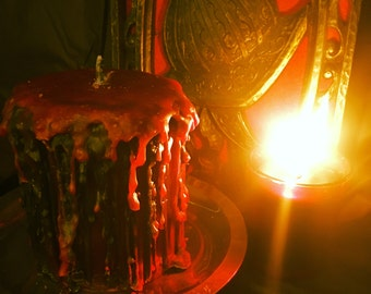 Poison Apple Drip Candle