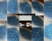 Duochrome Eyeshadow- Drogo Blackened Blue multicolor holographic sparkle Glimmer mineral dupe cheeks shimmer sparkle game of thrones