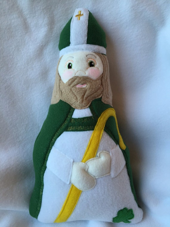 Saint Patrick Soft Doll
