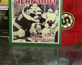 SLAPSHOT Olde Tyme Hardcore on Red wax