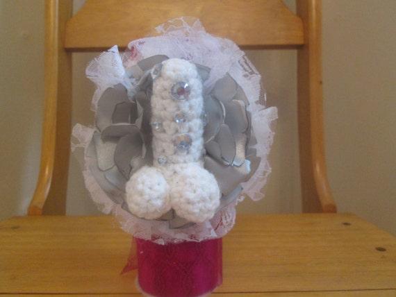 Wedding Gag Gift: PENIS WRIST CORSAGE Bachelorette Gift Penis Gag Gift Adult