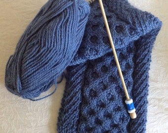 Knitting Kit - Honeycomb Cable and Twists