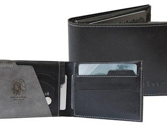 Men leather wallets, men unique wallets, men limited edition wallets, men leather accessories, men bifold chic wallet, soft bifold wallet
