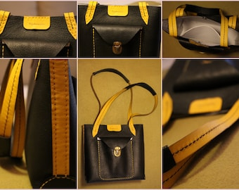 Leather bag for ladies