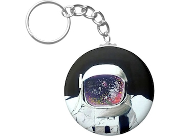 Spaced Out Key Chain