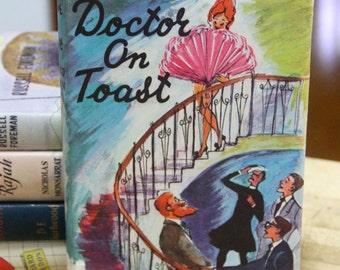 "Richard Gordon, "" Doctor on Toast ""  The Book Club, London 1962"