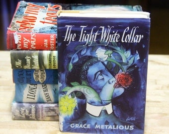 """Grace Metalious   """"The Tight White Collar """"  The Book Club, London 1960s"""