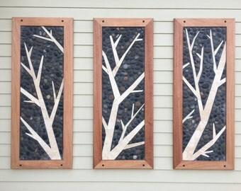 Custom Tree Tile Mosaic Artwork