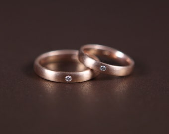 14k gold rings for couple gay lesbian wedding band special sale - Gay Wedding Ring