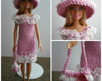 Pink and Pretty   Doll dress