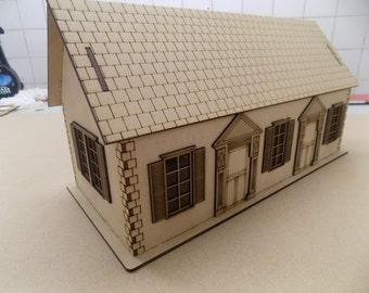 1/32 House Digital DXF pattern for laser cutter