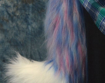 Pastel Fox Tail