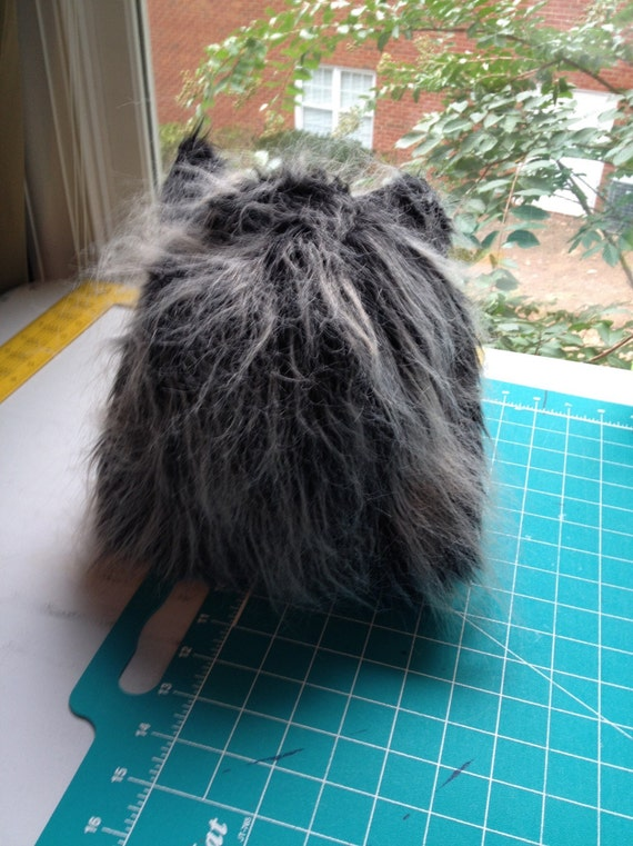Wolf headpiece for dog