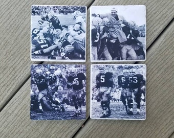 Green Bay Packer  Vintage Game Scenes