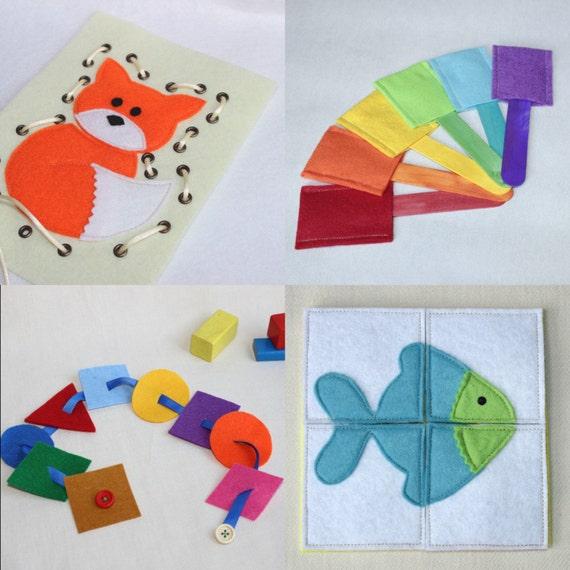jeux eveil sac activit s 4 jeux montessori puzzle jeu. Black Bedroom Furniture Sets. Home Design Ideas