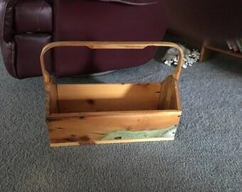 Bent Handle Basket