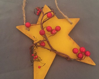 Primitive Star Ornament