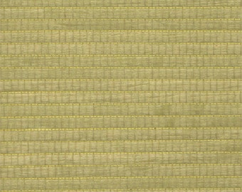Wood Veneer Grasscloth Olive Wallpaper R1966
