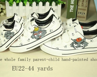 Converse, hand-painted shoes,customized vans shoes, can be customized