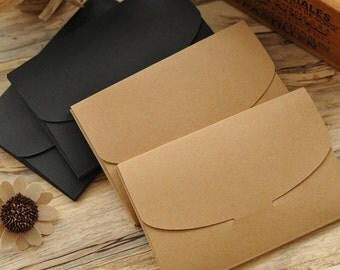 10Pcs Kraft White Chalkboard Post Card Envelope (17.5*11cm), Party Favors, Wedding Favors, DIY Card etc