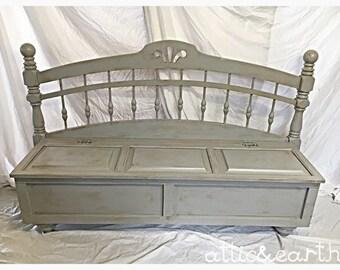 Unique Bench with Storage