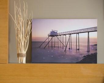 Beautiful Malibu LED Painting  P-7006