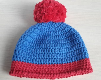 Stan Marsh Hat from South Park   - for Halloween / Cosplay / Baby Shower Gift