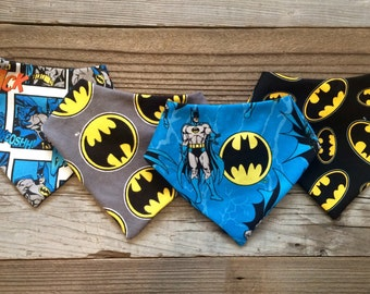 Batman baby bandana bib set