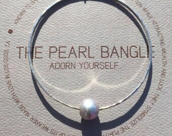 Sustainable Freshwater Pearl Bangle