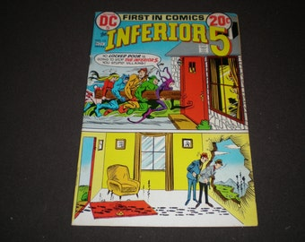 Inferior 5 #12, (1972), DC Comics  C05