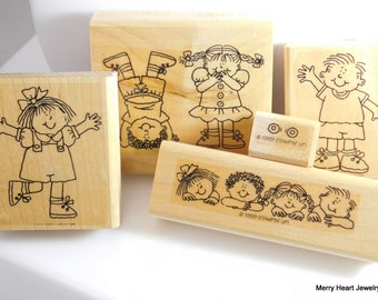 "Stampin' Up ""Kids at Play"" Stamp Set"