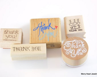 Stampin' Up Thank You Set - 5 piece